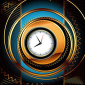 Horloges fond — Vecteur
