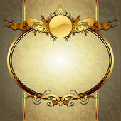 Ornate frame — Stock Vector