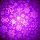 Christmas snowflakes background — Stockvektor