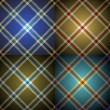 Tartan background - Stock Vector