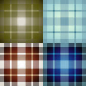 Tartan background — Stock Vector