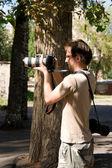 Photographer, Operator — Stock Photo