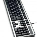 Isolated keyboard — Stock Photo