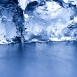 Fresh ice background — Stock Photo