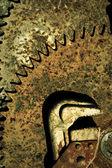 Grunge rusty background — Stock Photo