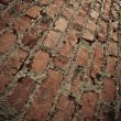 Brick wall vertical background — Stock Photo
