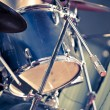 Closeup musical drums - Stock Photo