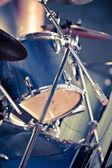 Closeup musical drums — Stock Photo