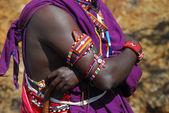 Africa masai — Stock Photo