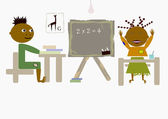 African school — Stock Photo