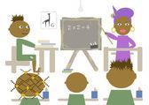 非洲学校 — 图库照片