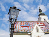 St. Markos Church (Zagreb, Croatia) — Stock Photo