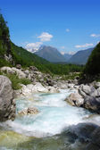 Boka rapids (Slovenia) — Stock Photo