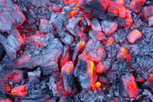 Embers of fire — Stock Photo