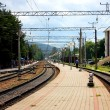 Commuter railway station — Foto de stock #3833845