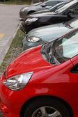 Car parking — Stock Photo