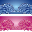 Royalty-Free Stock Vector Image: Angels wings