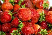 Background from a strawberry — Stock Photo