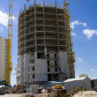 Stock Photo: Construction of apartment house