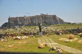 Acropolis of Lindos. — Stock Photo