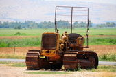 Old tractor. — Stock Photo