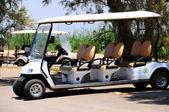 Golf auto 's . — Stockfoto