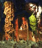 Stalactite Cave. — Stock Photo