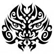 Tribal tattoo face vector — Stock Vector #3607681