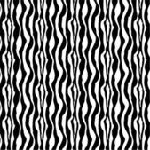Zebra Skin Vector, seamless pattern — Stock Vector