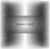 Lines background metal. vector. — Stock Vector