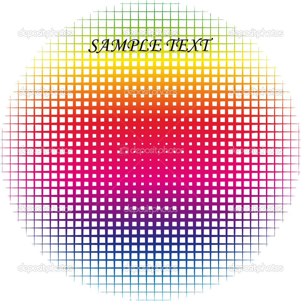 Round vector iridescent (scalable) Vector of is illustration — Stock Vector #3607689