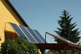 Solar cells. — Stock Photo