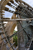 Historic water wheel at Hama, Syria — Stock Photo