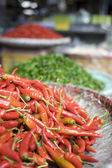Fresh red and green chilli pepper — Stock Photo