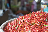 Fresh red chilli pepper — Stock Photo