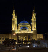 Kathem-al-anbiya mosque, Beirut, Lebanon — Stock Photo
