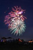 Firework 3 — Stock Photo
