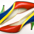 Stock Photo: Colorful shoes