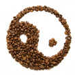 Stock Photo: Coffee feng shui