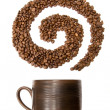 Foto de Stock  : Coffee swirl
