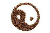Kaffee-feng-shui — Stockfoto