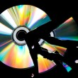 Foto de Stock  : Broken CD