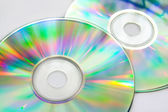 Colorful cd disks — Stock Photo