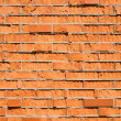 Bad quality brick wall — Stockfoto