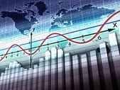 Världen balans — Stockfoto