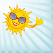 Happy sun. — Stock Photo