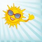Happy sun. — Stock Photo