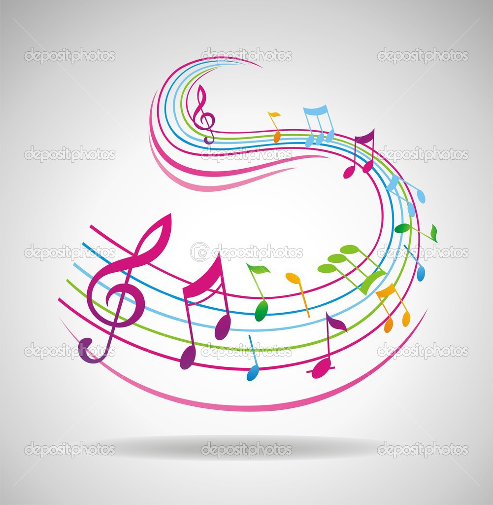 colorful music background    stock photo    anna stsonn  3426876