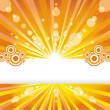 Royalty-Free Stock Vector Image: Solar background.