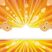 Solar background. — Stock Vector
